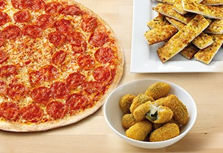 Buy an XXL Pizza and get two Sides FREE