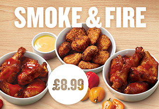 Smoke and Fire £8.99