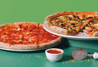 Two Medium Pizzas for £9.99