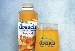 Drench Peach & Mango