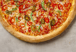 Hot Pepper Passion Pizza
