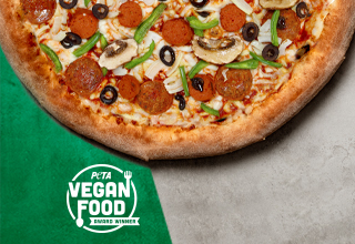 The Vegan Works Pizza