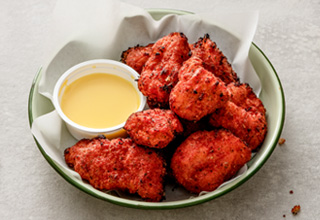 Hot Piri Piri Chicken Poppers