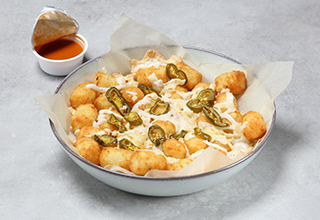 Vegan Sheese® Potato Tots with Jalapenos